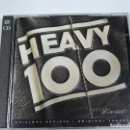 CDs de Música: HEAVY 100 VOL.1 CD X2. Lote 117403755