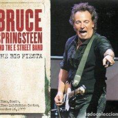 CDs de Música: BRUCE SPRINGSTEEN- 2XCD THE BIG FIESTA (BILBAO EXHIBITION CENTER 2007) - DIGIPAK -NUEVO. Lote 117468035