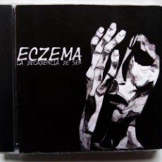 CDs de Música: ECZEMA. LA DECADENCIA DE SER. CD AUTOEDITADO. ESPAÑA 2008. DEATH METAL. MADRID.. Lote 117481599