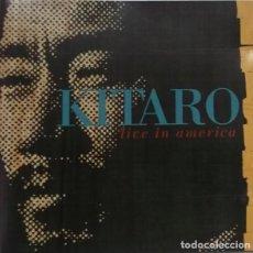 CDs de Música: CD KITARO – LIVE IN AMERICA (ED. 1991). Lote 117486387