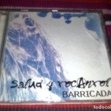 CDs de Música: BARRICADA DIRECTO SALUD Y ROCANROL CD ORIGINAL POLYGRAM 1997 17 TEMAS. Lote 117496799