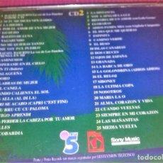 CDs de Música: LOS PANCHOS - SABOR A TI / DOBLE CD CBS DE 1996 ORIGINAL 50 TEMAS. Lote 117501047