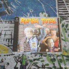 CDs de Música: RUMBA TOTAL - 2 CD'S - BY JOSÉ MARÍA CASTELLS, TONI PERET & QUIQUE TEJADA - MAX MUSIC - PM 1300 CDTV. Lote 117552603