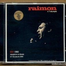 CDs de Música: 2 CD - RAIMON A L'OLYMPIA. Lote 117554759