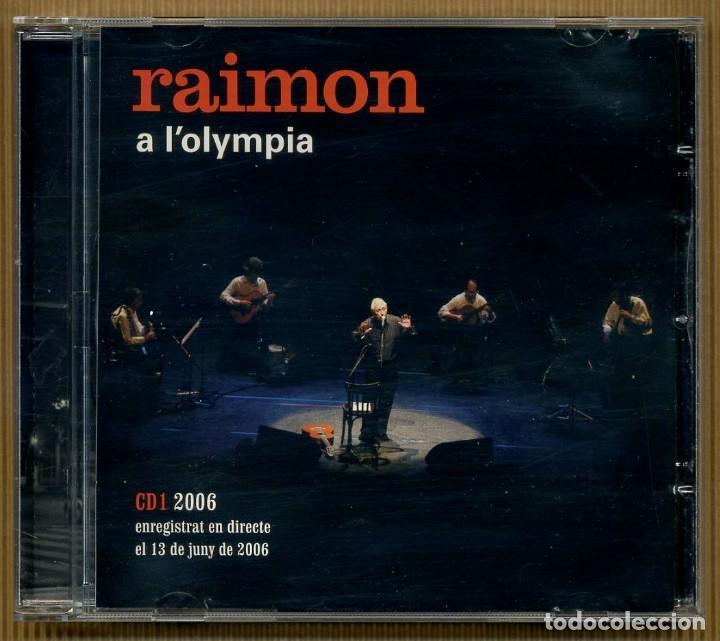 CDs de Música: 2 CD - RAIMON A L'OLYMPIA - Foto 2 - 117554759