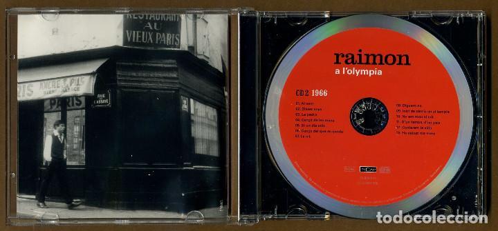 CDs de Música: 2 CD - RAIMON A L'OLYMPIA - Foto 3 - 117554759