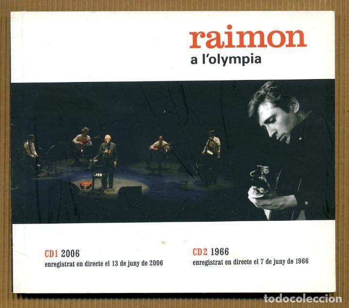 CDs de Música: 2 CD - RAIMON A L'OLYMPIA - Foto 4 - 117554759