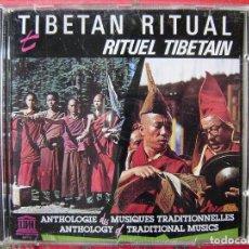 CDs de Música: ETNICA.TIBET.TIBETAN RITUAL....DIFICIL. Lote 117575467