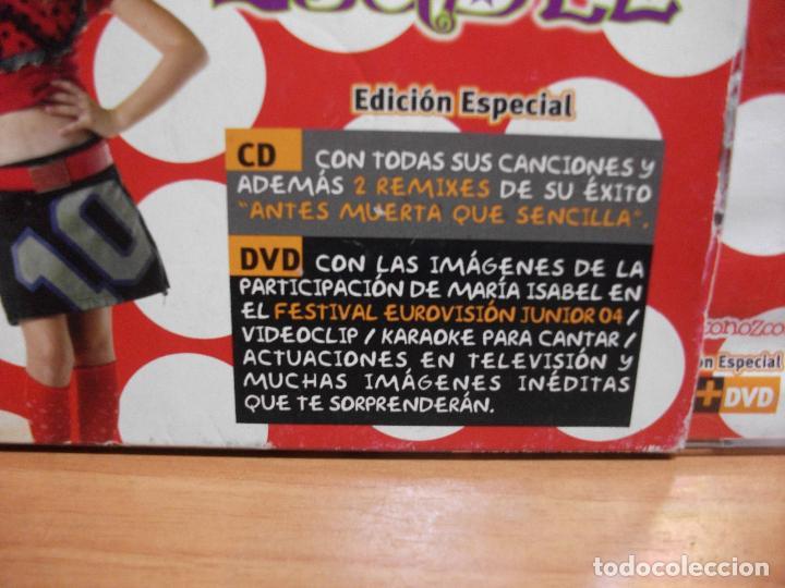 CDs de Música: MARÍA ISABEL - ¡NO ME TOQUES LAS PALMAS QUE ME CONOZCO! CD ALBUM + DVD EDICION ESPECIAL PEPETO - Foto 2 - 142929138