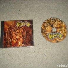CDs de Música: LUJURIA- ENEMIGOS DE LA CASTIDAD. Lote 117653619