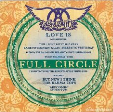 CDs de Musique: AEROSMITH: FULL CIRCLE / HOLE IN MY SOUL (LIVE). CD SINGLE. HARD ROCK U.S.A.. Lote 117661675