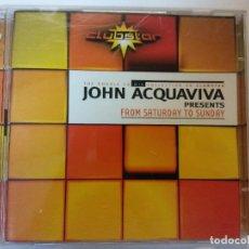 CDs de Música: CD. JOHN ACQUAVIVA. Lote 117701419