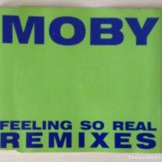 CDs de Música: MOBY CD FEELING SO REAL REMIXES. Lote 117732367