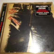 CDs de Música: THE ROLLING STONES STICKY FINGERS COLLECTOR,S EDITION DIGITALLY REMASTERED CD CON CREMALLERA. Lote 117740943