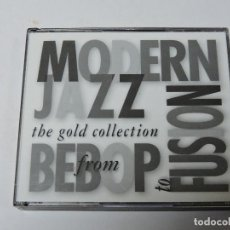 CDs de Música: MODERN JAZZ FROM BEBOP TO FUSION: GOLD COLLECTION CD X2. Lote 117750411