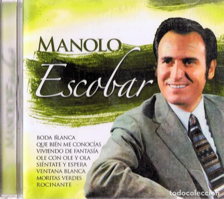 CDs de Música: MANOLO ESCOBAR (CD) - Foto 1 - 117752463