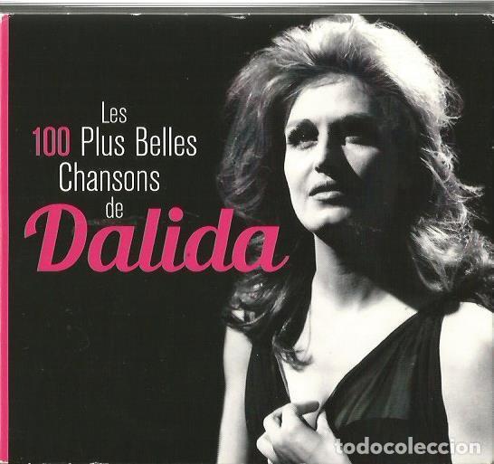 5 CD BOX : DALIDA : LES 100 PLUS BELLES CHANSONS DE DALIDA (Música - CD's Melódica )