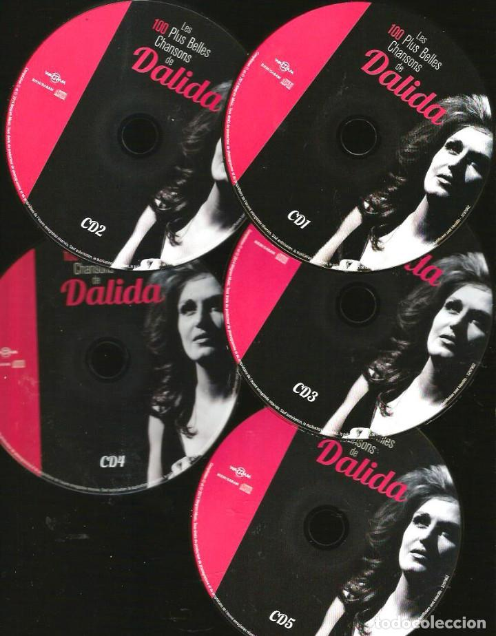 CDs de Música: 5 CD BOX : DALIDA : LES 100 PLUS BELLES CHANSONS DE DALIDA - Foto 3 - 117771283