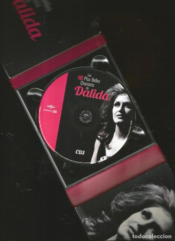 CDs de Música: 5 CD BOX : DALIDA : LES 100 PLUS BELLES CHANSONS DE DALIDA - Foto 4 - 117771283