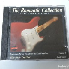 CDs de Música: DARREN WOODFORD, LEE RUSSELL - ROMANTIC COLLECTION, VOLUME 1 ELECTRIC GUITAR CD. Lote 117783195