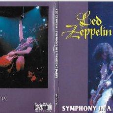 CDs de Música: LED ZEPPELIN: SYMPHONY IN A THOUSAND PARTS. GRABADO EN DIRECTO EN SAN DIEGO (CALIFORNIA) EN 1975. Lote 117883271