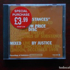 CDs de Música: CD MIXED SUBSTANCES - RECORDINGS OF SUBSTANCE (AO). Lote 117899775