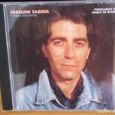 CDs de Música: CD JOAQUIN SABINA 1987 PONGAMOS QUE HABLO DE MADRID SALIDA 0,99 €. Lote 117922839