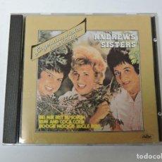 CDs de Música: ANDREWS SISTERS CD. Lote 117928759