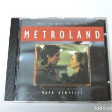 CDs de Música: MARK KNOPFLER - METROLAND CD. Lote 117929527