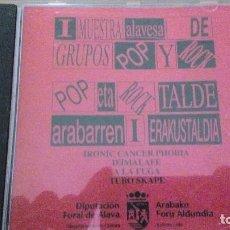 CDs de Música: I MUESTRA ALAVESA DE GRUPOS POP Y ROCK CD VARIOS. Lote 117952235