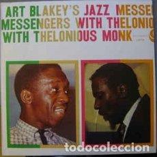CDs de Música: ART BLAKEY'S JAZZ MESSENGERS WITH THELONIOUS MONK. ATLANTIC 7567 81332 2YG CD 1958. Lote 117985775