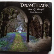 CDs de Música: DREAM THEATER. TRAIN OF THOUGHT WORLD TOUR 2004. DIGIPACK DOBLE CD HOLY CHURCH COMPANY. 2004.. Lote 118007635