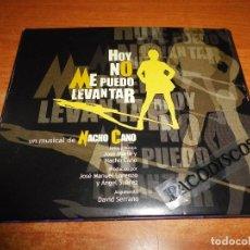 CDs de Música: HOY NO ME PUEDO LEVANTAR BANDA SONORA DEL MUSICAL DE MECANO NACHO CANO DOBLE CD DIGIPACK 2005. Lote 118015843