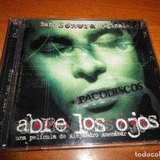 CDs de Música: ABRE LOS OJOS BANDA SONORA DOBLE CD ALBUM 1997 AMENABAR CHUCHO MASSIVE ATTACK ONION IF 2 CD. Lote 118016407