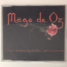 CDs de Música: MÄGO DE OZ - EL QUE QUIERA ENTENDER QUE ENTIENDA CD SINGLE 2000. Lote 118029751