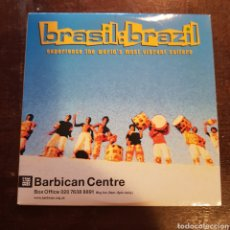 CDs de Música: BRASIL BRAZIL. VARIOS. CD PROMOCIONAL. BARBICAN CENTRE.. Lote 118040328