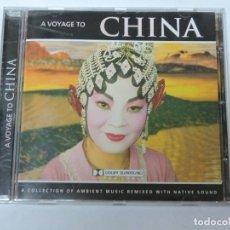 CDs de Música: A VOYAGE TO CHINA CD. Lote 118055683
