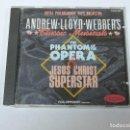 CDs de Música: ANDREW LLOYD WEBBER - THE PHANTOM OF THE OPERA & JESUS CHRIST SUPERSTAR CD. Lote 118056019