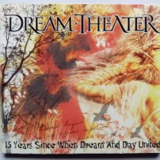 CDs de Música: DREAM THEATER. 15 YEARS SINCE WHEN DREAM AND DAY UNITED. CD UNOFFICIAL. LIVE USA 2004.. Lote 118065331