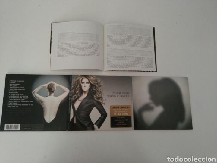 CDs de Música: Celine Dion - Taking chances - Cd album - Foto 2 - 118133906