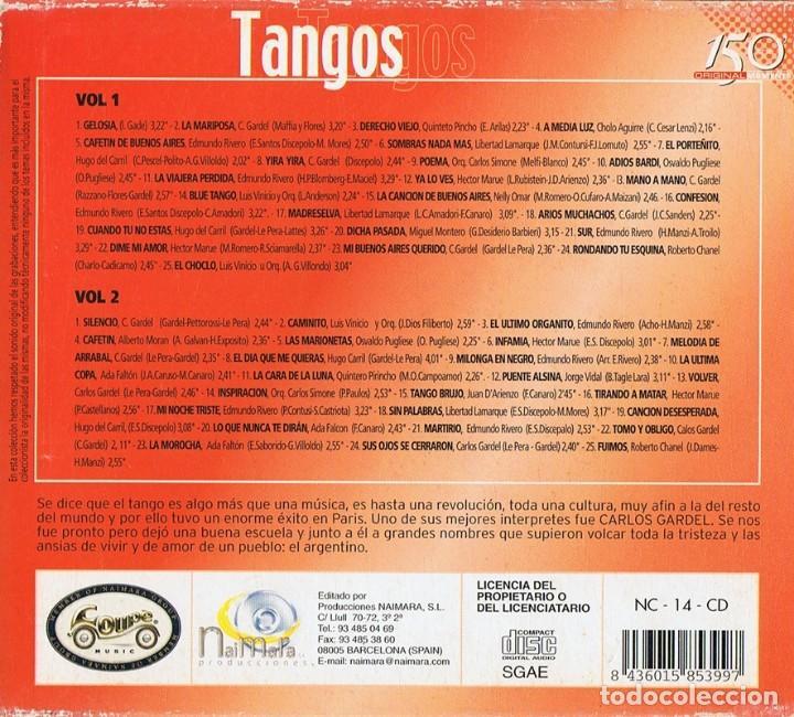 CDs de Música: TANGOS ( 2 CD) - Foto 4 - 118147791