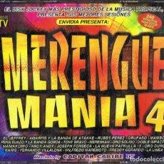 CDs de Música: MERENGUE MANIA 4 (4 CD). Lote 118148495