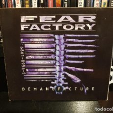 CDs de Música: FEAR FACTORY - DEMANUFACTURE. Lote 118186031