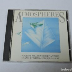 CDs de Música: ATMOSPHERES CD. Lote 118203903