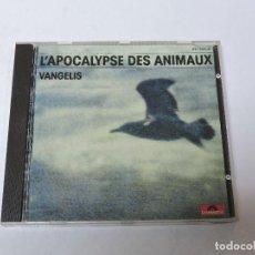 CDs de Música: VANGELIS L´APOCALYPSE DES ANIMAUX CD. Lote 118206743