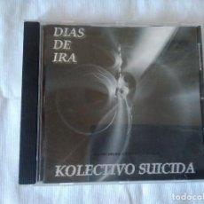 CDs de Música: 48-CD KOLECTIVO SUICIDA, DIAS DE IRA, 2005. Lote 118257811