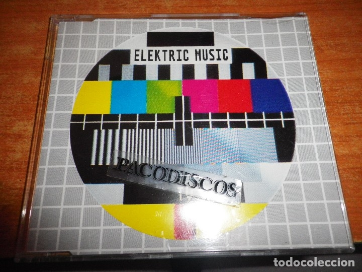 ELEKTRIC MUSIC TV / TELEVISION KRAFTWERK CD SINGLE ALEMANIA PORTADA PLASTICO CONTIENE 2 TEMAS (Música - CD's Techno)