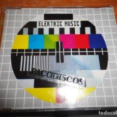 CDs de Música: ELEKTRIC MUSIC TV / TELEVISION KRAFTWERK CD SINGLE ALEMANIA PORTADA PLASTICO CONTIENE 2 TEMAS. Lote 118279200