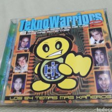 CDs de Música: TEKNO WARRIORS 2 CD DOBLE. Lote 118296390