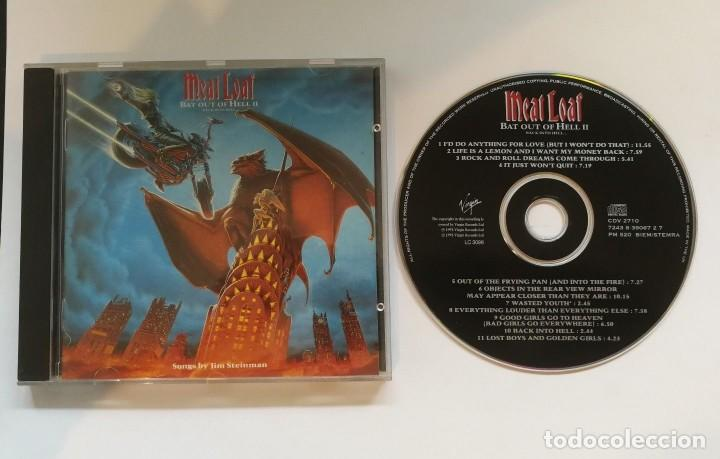 MEAT LOAF ?– BAT OUT OF HELL II: BACK INTO HELL - 1993- CDV2710 (Música - CD's Heavy Metal)